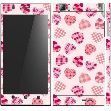 Snooky 41628 Digital Print Mobile Skin Sticker For Lenovo K900 - White