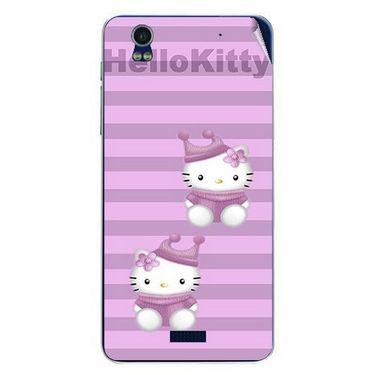 Snooky 41781 Digital Print Mobile Skin Sticker For Lava Iris Pro 20 - Pink