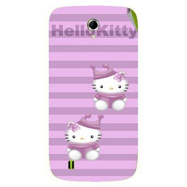 Snooky 42062 Digital Print Mobile Skin Sticker For Intex Aqua N4 - Pink