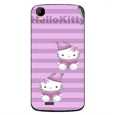 Snooky 42161 Digital Print Mobile Skin Sticker For Intex Aqua Speed - Pink