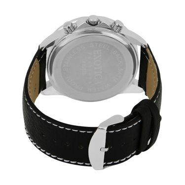 Exotica Fashions Analog Round Dial Watches_E10ls21 - Black