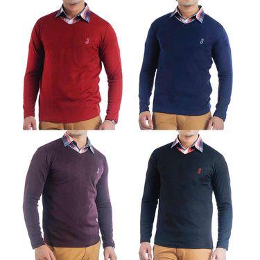 Pack of 4 Full Sleeves Sweaters For Men_Srifs05