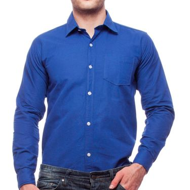 Pack of 2 Cotton Casual Shirts For Men_Fs960 - Blue & Yellow