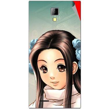 Snooky 46263 Digital Print Mobile Skin Sticker For Micromax Canvas Xpress A99 - Multicolour