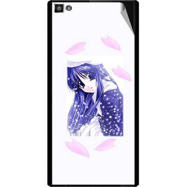 Snooky 47118 Digital Print Mobile Skin Sticker For Xolo Hive 8X-1000 - White