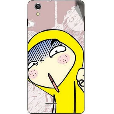Snooky 47408 Digital Print Mobile Skin Sticker For Xolo A1010 - Multicolour