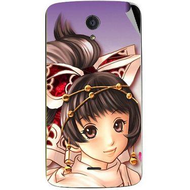 Snooky 47445 Digital Print Mobile Skin Sticker For Xolo Omega 5.5 - Multicolour
