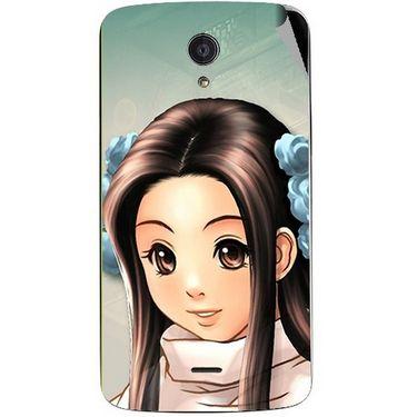 Snooky 47446 Digital Print Mobile Skin Sticker For Xolo Omega 5.5 - Multicolour