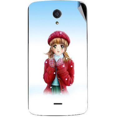Snooky 47467 Digital Print Mobile Skin Sticker For Xolo Omega 5.5 - White