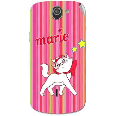 Snooky 47520 Digital Print Mobile Skin Sticker For Xolo Q600 - Pink