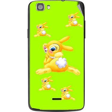 Snooky 47586 Digital Print Mobile Skin Sticker For Xolo Q610s - Green