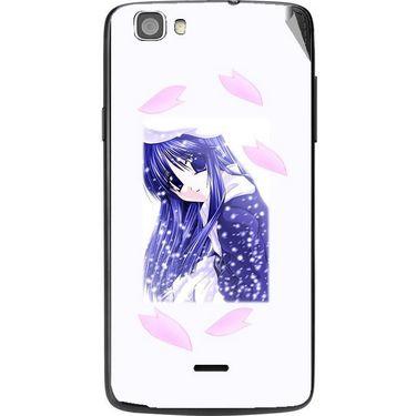 Snooky 47598 Digital Print Mobile Skin Sticker For Xolo Q610s - White