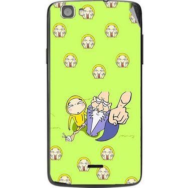 Snooky 47601 Digital Print Mobile Skin Sticker For Xolo Q610s - Green