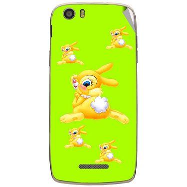 Snooky 47650 Digital Print Mobile Skin Sticker For Xolo Q700s - Green