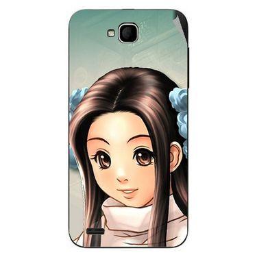 Snooky 47670 Digital Print Mobile Skin Sticker For Xolo Q800 - Multicolour