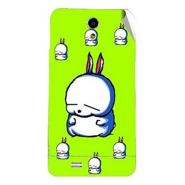 Snooky 47709 Digital Print Mobile Skin Sticker For Xolo Q900 - Green