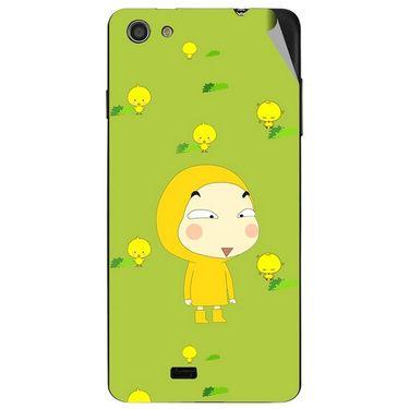 Snooky 47732 Digital Print Mobile Skin Sticker For Xolo Q900S - Green