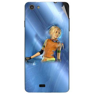 Snooky 47739 Digital Print Mobile Skin Sticker For Xolo Q900S - Blue