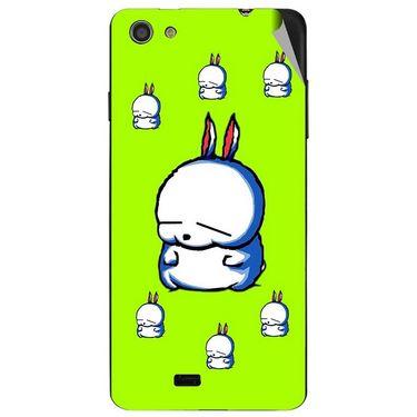 Snooky 47741 Digital Print Mobile Skin Sticker For Xolo Q900S - Green