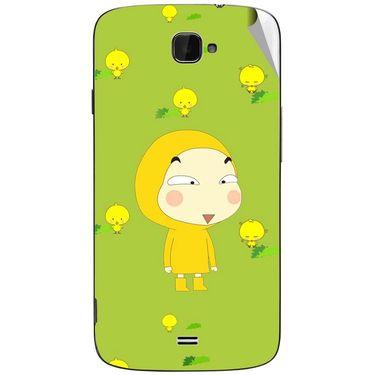 Snooky 47796 Digital Print Mobile Skin Sticker For Xolo Q1000 Opus - Green