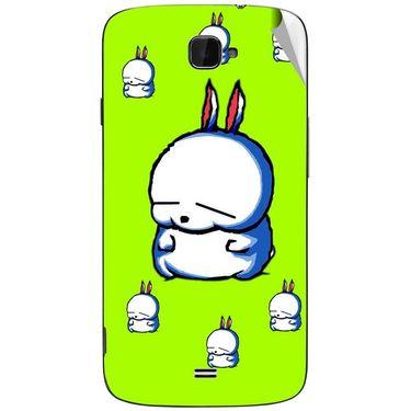 Snooky 47805 Digital Print Mobile Skin Sticker For Xolo Q1000 Opus - Green