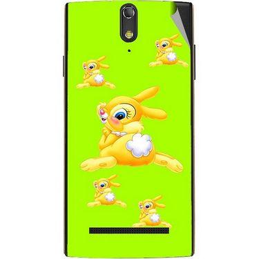 Snooky 47874 Digital Print Mobile Skin Sticker For Xolo Q1020 - Green