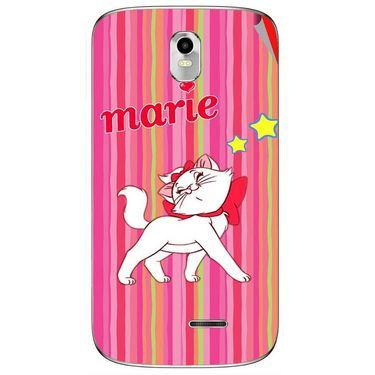 Snooky 48383 Digital Print Mobile Skin Sticker For Lava Iris 402 Plus - Pink