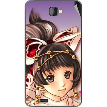 Snooky 48468 Digital Print Mobile Skin Sticker For Lava Iris 502 - Multicolour