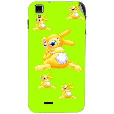 Snooky 48737 Digital Print Mobile Skin Sticker For Lava Iris 405 Plus - Green