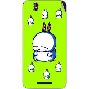 Snooky 48796 Digital Print Mobile Skin Sticker For Lava Iris X1 - Green