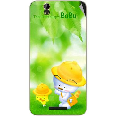 Snooky 48856 Digital Print Mobile Skin Sticker For Lava Iris X1 Grand - Green
