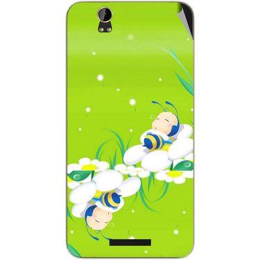 Snooky 48857 Digital Print Mobile Skin Sticker For Lava Iris X1 Grand - Green