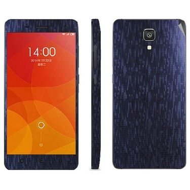 Snooky 19250 Mobile Skin Sticker For Xiaomi Mi4 - Purple