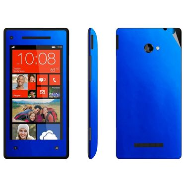 Snooky 20480 Mobile Skin Sticker For Htc 8X - Blue