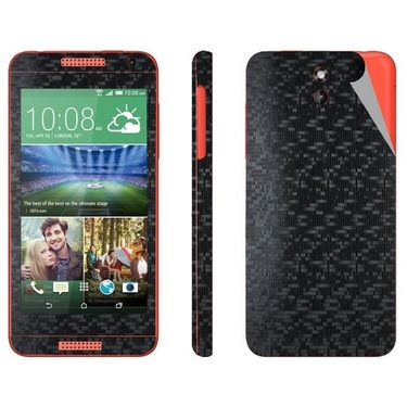 Snooky 20553 Mobile Skin Sticker For HTC Desire 610 - Black