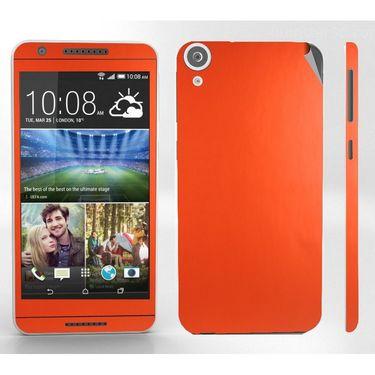 Snooky 20558 Mobile Skin Sticker For Htc Desire 820 - Orange