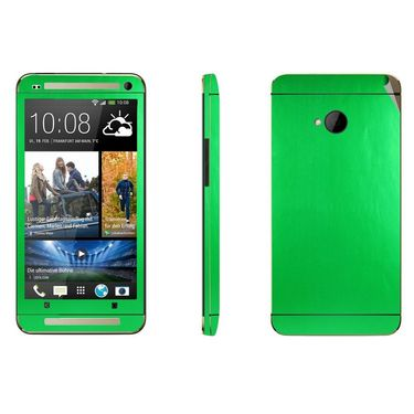 Snooky 20579 Mobile Skin Sticker For Htc One M7 - Green
