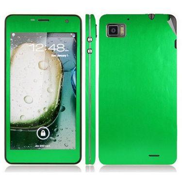 Snooky 20703 Mobile Skin Sticker For Lenovo K860 - Green