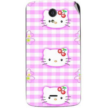 Snooky 42954 Digital Print Mobile Skin Sticker For Xolo Omega 5.5 - Pink