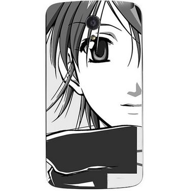 Snooky 42956 Digital Print Mobile Skin Sticker For Xolo Omega 5.5 - Grey
