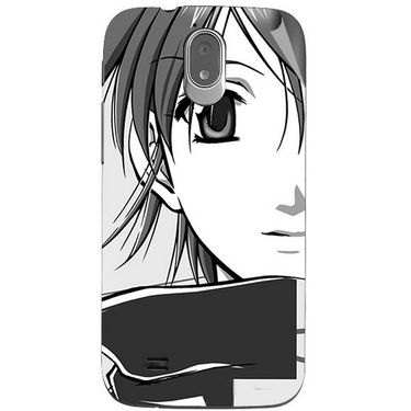 Snooky 43143 Digital Print Mobile Skin Sticker For Xolo Play T1000 - Grey