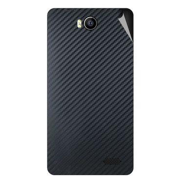 Snooky 43159 Mobile Skin Sticker For Intex Aqua 4.5e - Black