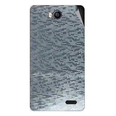 Snooky 43169 Mobile Skin Sticker For Intex Aqua 4.5e - silver