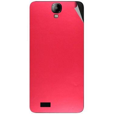 Snooky 43174 Mobile Skin Sticker For Intex Aqua Amaze - Red