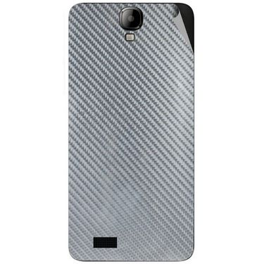 Snooky 43182 Mobile Skin Sticker For Intex Aqua Amaze - silver