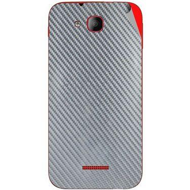 Snooky 43194 Mobile Skin Sticker For Intex Aqua CURVE - silver