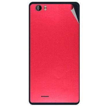 Snooky 43210 Mobile Skin Sticker For Intex Aqua Desire - Red
