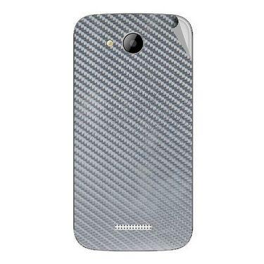 Snooky 43266 Mobile Skin Sticker For Intex Aqua i5 - silver
