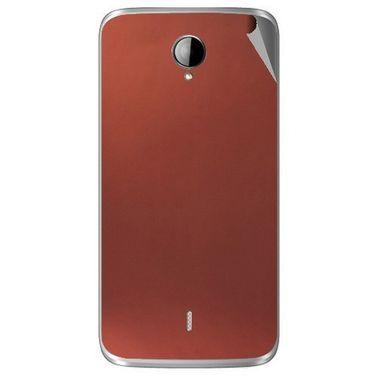 Snooky 43283 Mobile Skin Sticker For Intex Aqua i14 - Copper