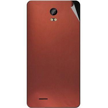 Snooky 43307 Mobile Skin Sticker For Intex Aqua Life 2 - Copper